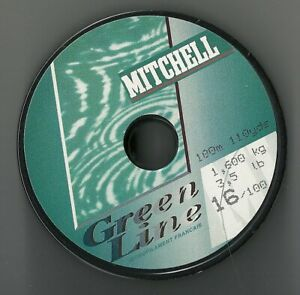Pair of Mitchell Fishing Line -100M Spools Many Breaking Strains Available