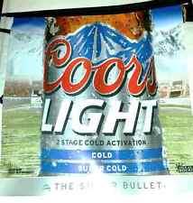 Coors Light Beer cerveza estados unidos banderín guirnalda American Football banderas cadena fiesta