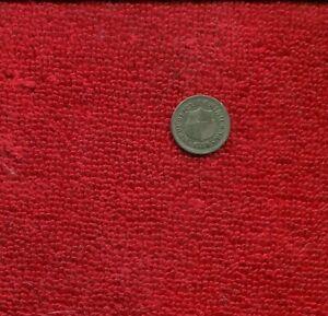 DOMINICAN REPUBLIC 1 1/4 CENTS 1888 A KM 6 VF/XF NR 50.00