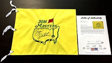 BRYSON DECHAMBEAU SIGNED 2016 MASTERS PIN FLAG PSA/DNA IN THE PRESENCE LOA