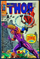 The Mighty Thor #140 VF The Growing Man Awesome Jack Kirby Art! High Grade!