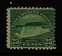 1931 Sc 699 Niagara Falls 25c MNH single stamp CV $13