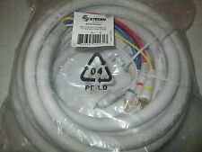 Steren Python HDTV SVGA Component Cable - HD-15 Male - RCA Male - 25ft - Ivory