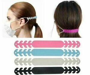 1x 3x 6x Face Mask Adjustable Holder Extender Reusable Hook Strap Ear Protection