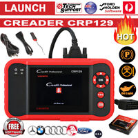 SALE! Launch X431 CRP129 Auto Car OBD2 Engine Diagnostic Scanner EOBD Scan Tool