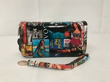 Magazine Style Clutch Wristlet Wallet Purse Handbag # 1