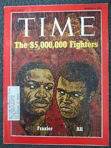 Muhammad Ali vs Joe Frazier I - 1971 TIME Magazine - Boxing