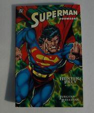 SuperMan - Doomsday - Graphic Novel < DC 1993 > Darkseid Appearance - NM: 9.2