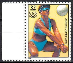 USA postfrisch MNH Olympia Olympische Spiele Sport Beach Volleyball / 196