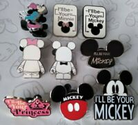 I'll Be Your Mickey Minnie Mouse Princess Couples Set Choose a Disney Pin