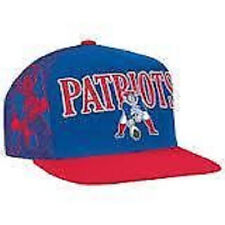 New England Patriots Logo Mitchell and Ness Wool Snapback Adjustable Hat New