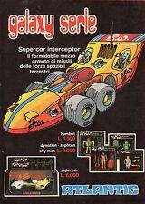 Pubblicità Advertising Werbung 1978 ATLANTIC Galaxy Serie - Supercar Interceptor
