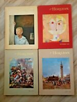 VINTAGE 1961 HORIZON BOOKS LOT OF 4