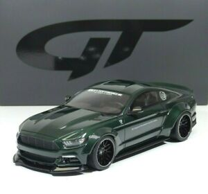 Ford Mustang by LB- Works Performance 2020 green / black 1:18 GT838 GT Spirit