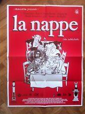 AFFICHE DE LA NAPPE L'ASSOCIATION PROCHE DU NEUF