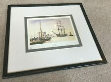 The Dock by Peter Knox HAND SIGNED Limited Edition print 807/850