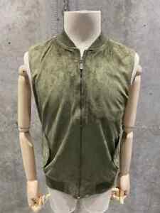 Brunello Cucinelli Sleeveless Zip Vest Size S