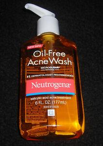 NEUTROGENA OIL FREE ACNE WASH 6 FL. OZ.
