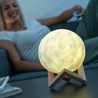 Lampe lune LED à contrôle tactile - Neuf