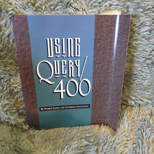 Using Query/400 manual by P Gapen & C Stoughton, 1995, 92 pp