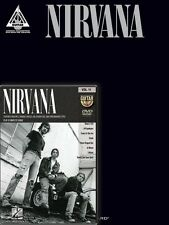 Nirvana Guitar Pack Sheet Music Includes Nirvana Guitar Tab Book and N 000142911