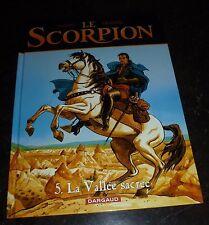 Marini - Le Scorpion 5 - La vallée sacrée - Dargaud - EO
