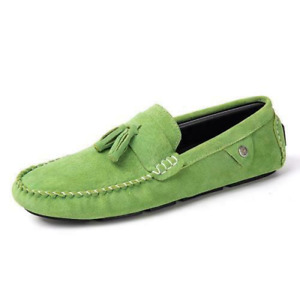 Men's Low Top Shoes Driving Moccasin Loafer Slipper Flat Tassel Breathable Shoes