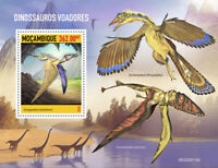 Mozambique Flying Dinosaurs Stamps 2020 MNH Prehistoric Animals 1v S/S