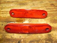 Mazda MX-5 Miata Rear Red Corner Marker Light Lenses Left Right Pair 1990-1997