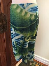Vivienne Tam Dragon Print Mesh A-line Skirt Size 3 Medium Large