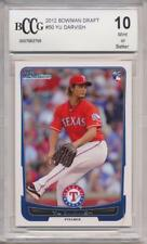 2012 Bowman Draft #50 Yu Darvish RC Rookie BGS/BCCG 10 Chicago Cubs