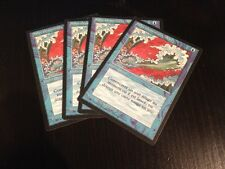 MTG MAGIC 3EDT BLACK BORDER BLUE ELEMENTAL BLAST (SALVE ELEMENTAIRE BLEUE) NM X4