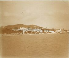Cannes Panorama France Plaque M6 Stereo Vintage Positif 6x13cm