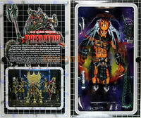 "NECA Predator Clan Leader Ultimate Alien Hunter 7"" Action Figure Predators New"