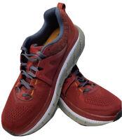 Hoka One One Mens Size 9.5 Gaviota 2 Red 1099629 RRDS Athletic Running Shoe
