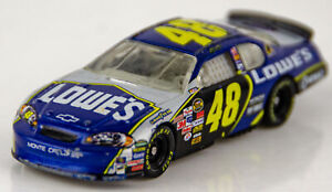 Action 2006 Chevrolet Monte Carlo SS Jimmie Johnson #48 Lowes Race Car