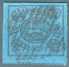 Braunschweig Mi.-Nr.15A o (MICHEL EURO 420,00) Altprüfung, feinst/pracht
