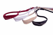 Leather show leads for dogs