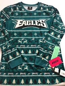 New NFL Philadelphia Eagles Youth Boys' Long Sleeve Shirt, Green, Size 14/16