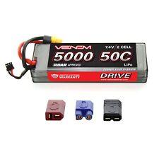 Venom LiPo Battery : Traxxas Summit 1:10 50C 7.4V 5000mAh 2S with UNI Plug