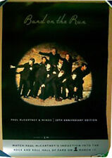 PAUL McCARTNEY & WINGS Band on the Run 1999 promo POSTER Denny Laine Linda
