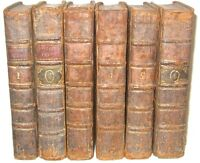 Leather Set;JOHN DRYDEN'S WORKS! (PRINTED 1735!) shakespeare milton poetry RARE
