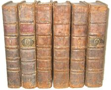 Leather Set;JOHN DRYDEN'S WORKS! •PRINTED 1735!• shakespeare milton poetry RARE