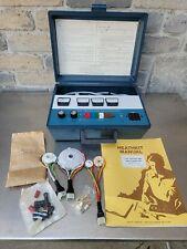 Vintage Heathkit Crt Tester Amp Rejuvenator Model It 5230 With Adapters Amp Manual