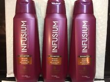 3 Pack INFUSIUM Repair & Renew with Argan Oil & Keratin Shampoo 13.5 OZ  NEW