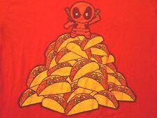 Marvel Tacos T-Shirt Juniors Large