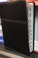 Biblia de Estudio Ryrie Ampliada : REINA VALERA 1960 PIEL Negor con índiceBlack