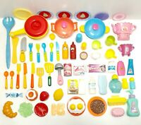 Children pretend Kitchen Toys Role Play Toys Plastic Food Kitchen Cooking Toys