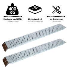 2x Auffahrrampe Rampe Autorampe Auffahrhilfe Verladerampe Laderampe Stahl 400kg