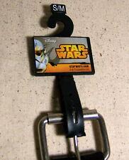 Star Wars Storm Trooper Children's Belt Black New with Tag/Hanger Disney S/M